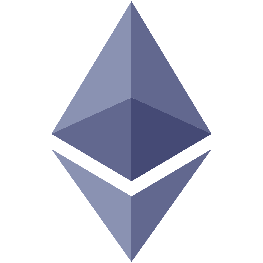 Ethereum Logo Purple