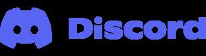 Discord Logo Wordmark Color