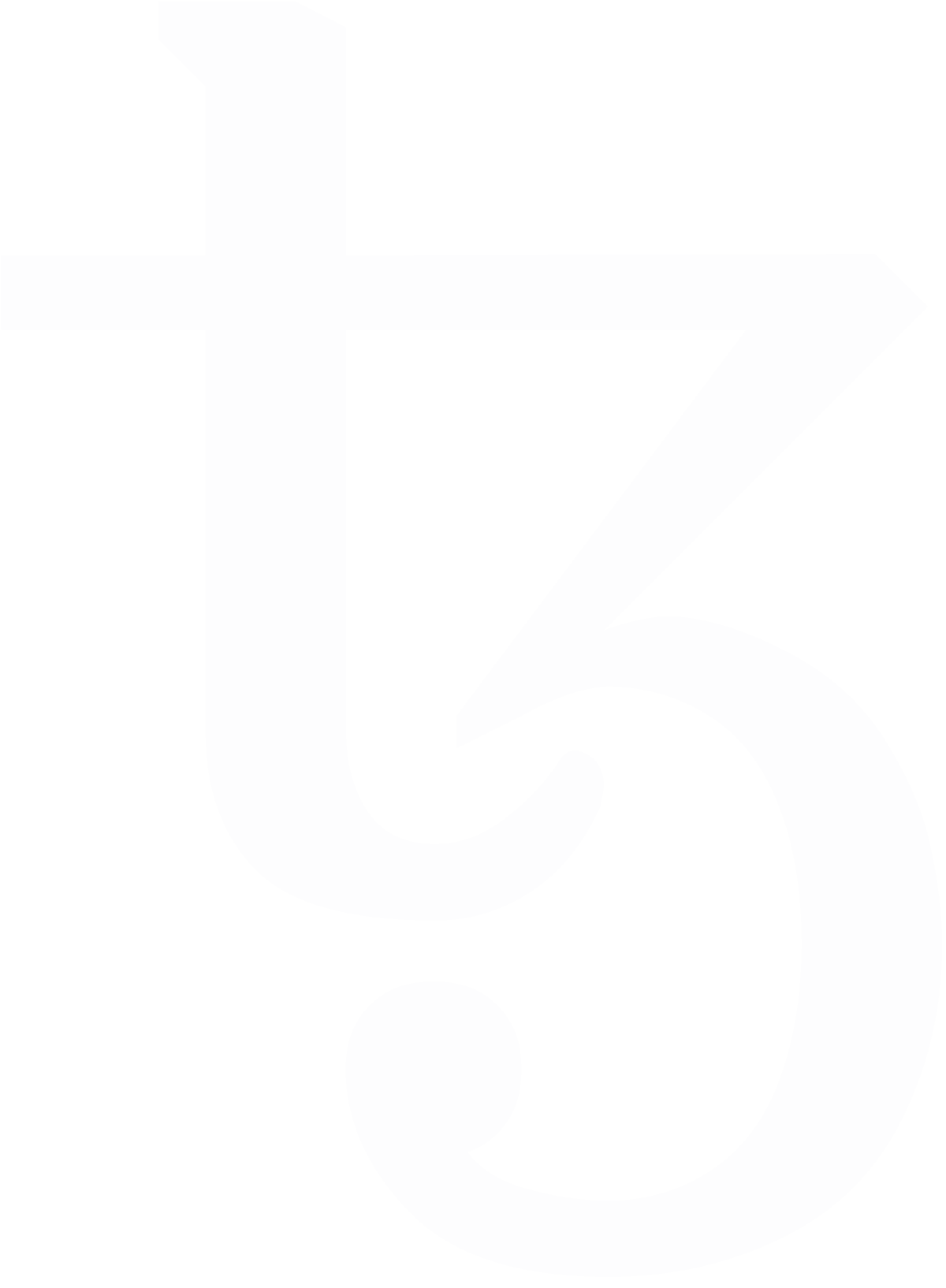 Tezos Logo White