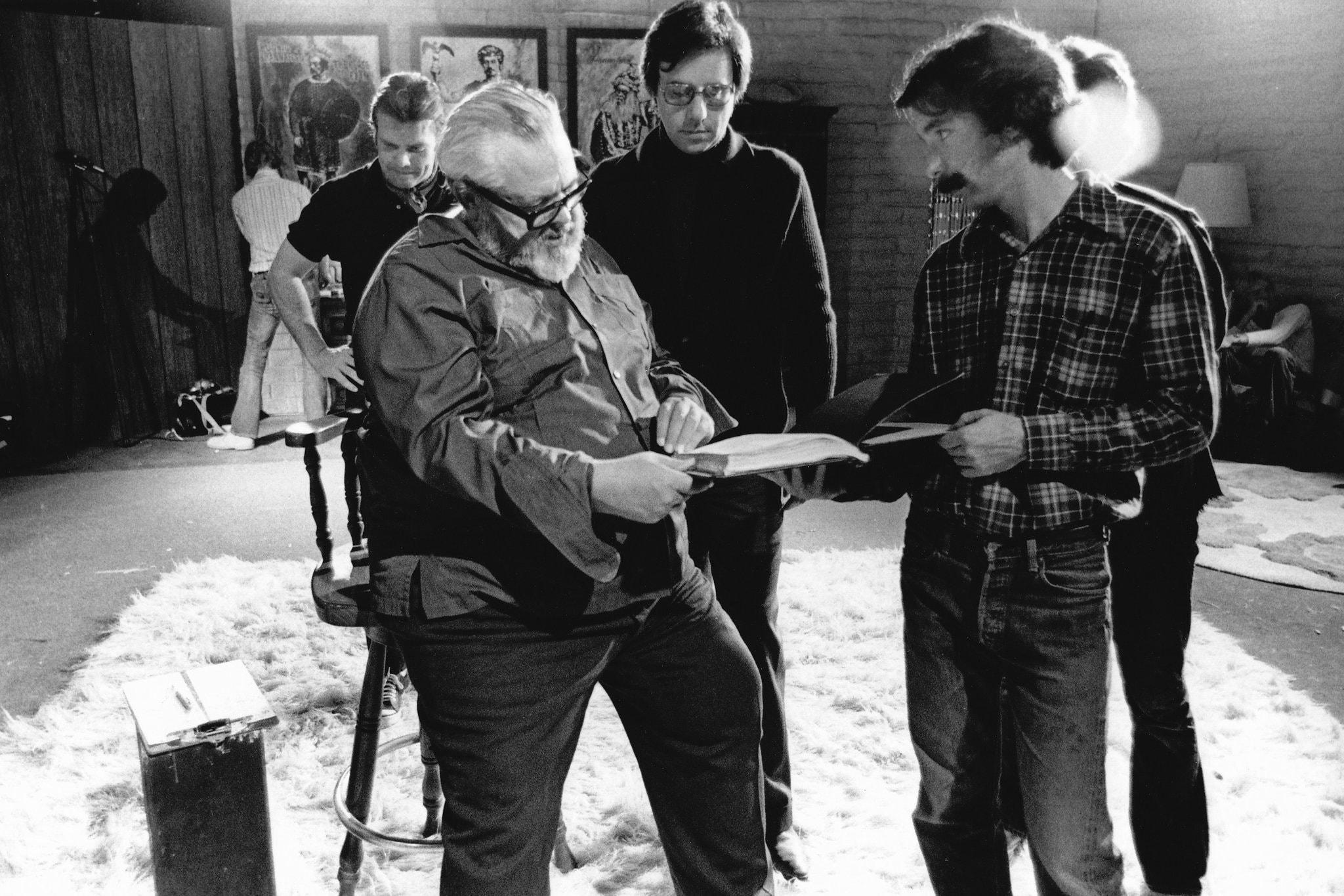 Orson Welles & Peter Bogdanovitch